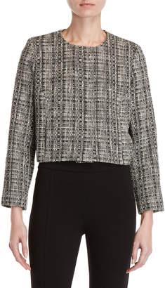 Milly Tweed Crop Jacket