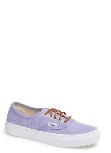Vans 'Authentic - Slim' Washed Canvas Sneaker (Women)