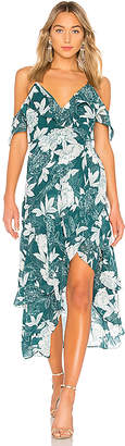 Bardot Floral Party Dress