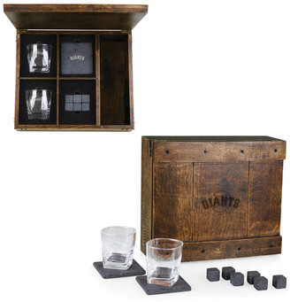 Legacy Whiskey Box Gift Set With San Francisco Giants Laser Engraving
