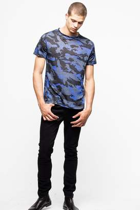 Zadig & Voltaire Tibo Camou T-Shirt
