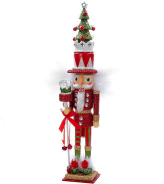 Kurt Adler 15In Tree Hat Nutcracker