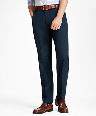 Brooks Brothers Clark Fit Supima Cotton Poplin Pants