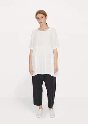 Le Vestiaire de Jeanne Silk Tunic White