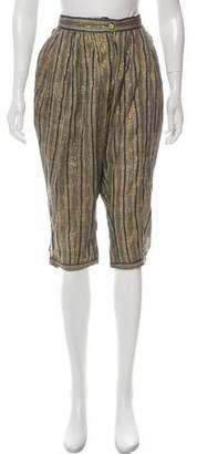 Etoile Isabel Marant Cropped High-Rise Pants