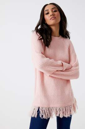 Next Womens Vero Moda Petite Long Sleeve O-neck Jumper
