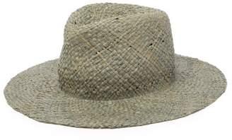 Albertus Swanepoel Laguna Straw Panama Hat - Mens - Grey