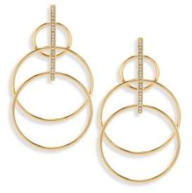 Jules Smith Designs Suzy Layered Hoop Drop Earrings