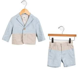 Fendi Boys' Notch-Lapel Mini Short Suit