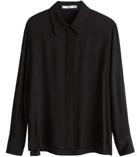 MANGO Textured shirt