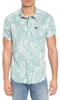 RVCA Bamboo Print Woven Shirt