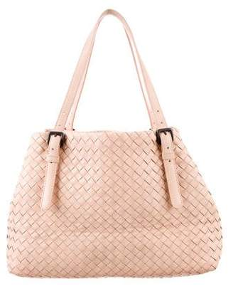Bottega Veneta Leather Intrecciato Tote