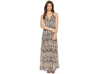 BB Dakota Willow Printed Maxi Dress Women's Dress