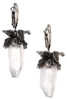 Alexander McQueen Iris Crystal Earrings