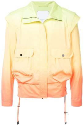 Ports V gradient bomber jacket