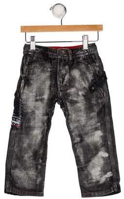Diesel Boys' Five Pocket Jeans