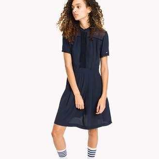 Tommy Hilfiger Pintuck Shirt Dress