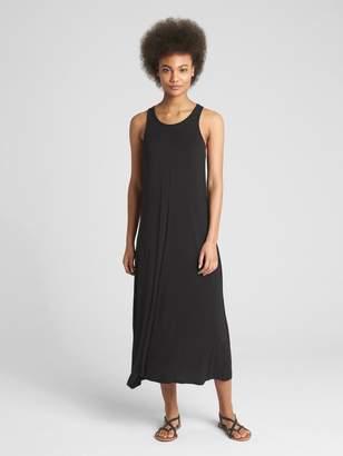 Gap Twist-Back Midi Tank Dress