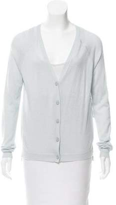 J Brand Cashmere Button-Up Cardigan w/ Tags