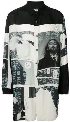 Yohji Yamamoto comic print shirt