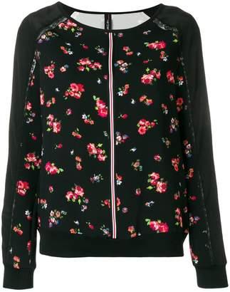 Marc Cain floral print jumper