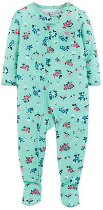 Carter's One Piece Sleep - Baby Girl Long Sleeve One Piece Pajama-Baby Girls