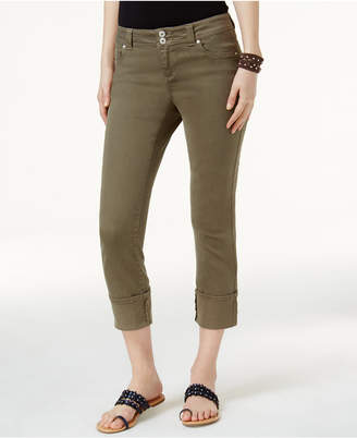 INC International Concepts I.N.C. Curvy-Fit Cropped Jeans, Created for Macy's