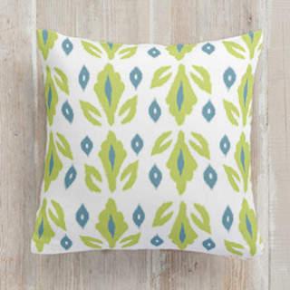 Garden Ikat Self-Launch Square Pillows