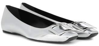 Roger Vivier Gommette leather ballet flats