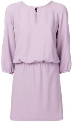 Emporio Armani cinched waist dress
