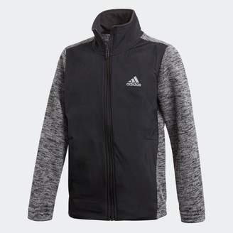 adidas (アディダス) - (子供用)ID ハイブリッドスウェットジャケット [裏起毛]