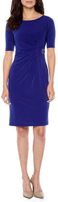 Jessica Howard Short Sleeve Sheath Dress