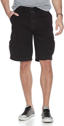 UNIONBAY Big & Tall Survivor Belted Cargo Shorts