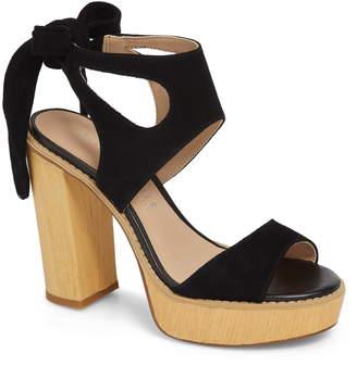 Very Volatile Ginsy Tie Back Platform Sandal