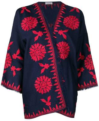P.A.R.O.S.H. floral embroidered jacket