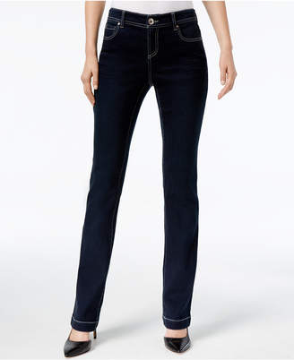 INC International Concepts I.n.c. Curvy-Fit 5-Pocket Bootcut Jeans, Created for Macy's