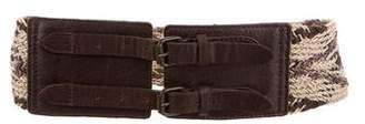AllSaints Patterned Waist Belt