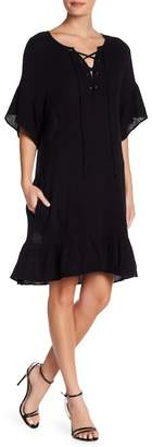 Velvet by Graham & Spencer Winter Bubble Gauze Dress