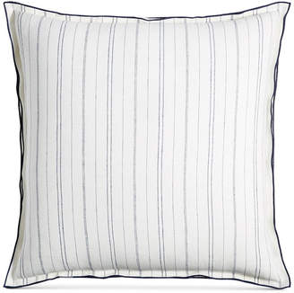 Hotel Collection Closeout! Linen Ticking Stripe European Sham, Created for Macy's Bedding