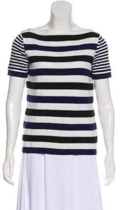Chanel Striped Cashmere Sweater