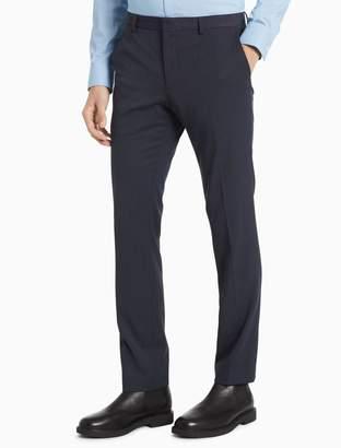 Calvin Klein Slim Fit Solid Nylon Pants