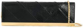 DSQUARED2 textured clutch bag