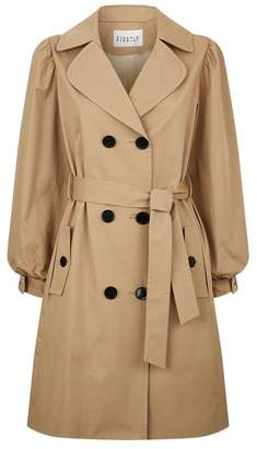 Claudie Pierlot Bow Cuff Trench Coat