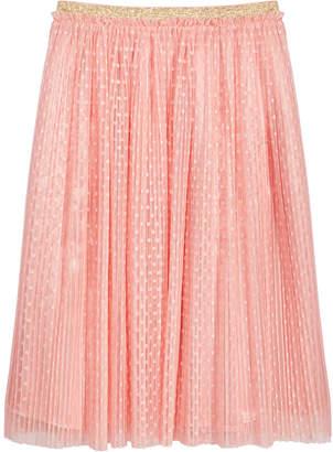 Epic Threads Big Girls Dot-Mesh Pleated Skirt
