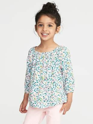 White Blouse Toddler Girls Shopstyle