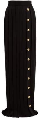 Balmain Pleated maxi skirt