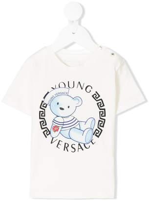 Versace Teddy logo T-shirt