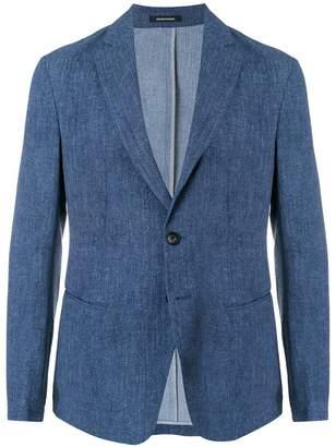 Emporio Armani classic fitted blazer