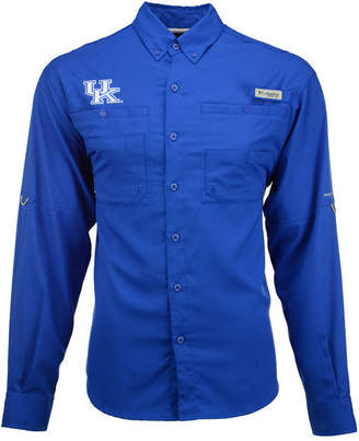 Columbia Men's Kentucky Wildcats Tamiami Long Sleeve Button-Down Shirt