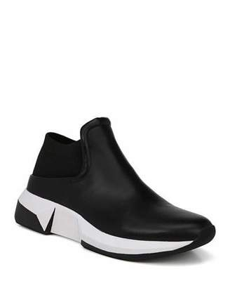 Via Spiga Veila Slip-On Leather Sneakers